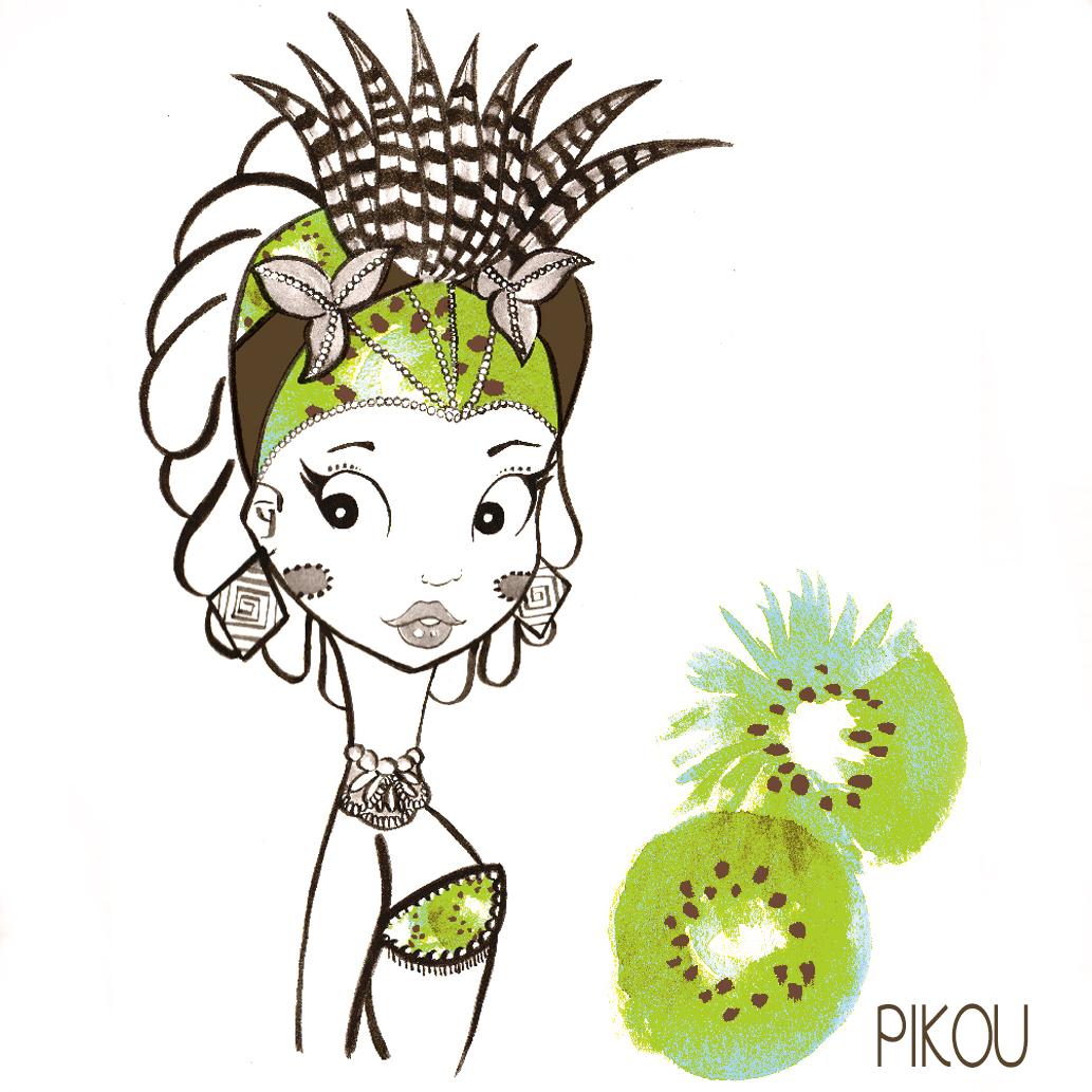 pikou-kiwi pinup
