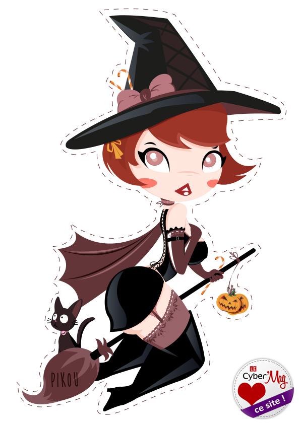 Ensorceleuse d'halloween